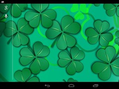 Lucky Shamrocks LWP (Free) 1.0 Screenshot