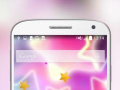 Lucky Star Glow Live Wallpaper 1.1 Screenshot