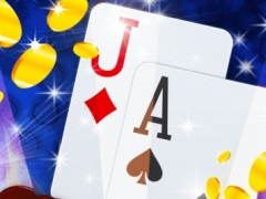 Lucky Team Blackjack: Be the best at card counting and earn amazing soccer bonuses 1.0 Screenshot