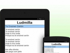Ludmilla Song mp3 New 1.1 Screenshot
