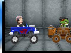 Luna Road Fighter 2.1 Screenshot