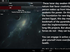 Lunar Calendar Health Free 1.6 Screenshot