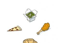 Lunch Stickers 1.0 Screenshot