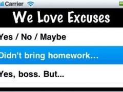 LuvExcuses 1.2 Screenshot