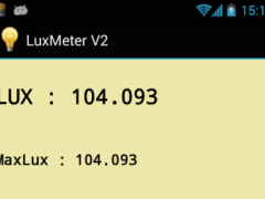 Luxmeter 2  Screenshot