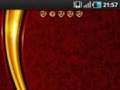 Luxury Gold apex / GO Launcher 1.3 Screenshot