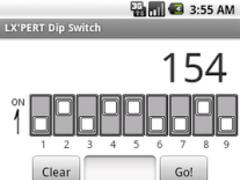 LX PERT Dip Switch 1.0 Screenshot