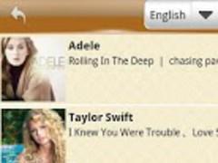 Lyric Popular Songs 1.0.1 Screenshot
