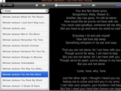 Lyrics Collector 1.2.0 Screenshot