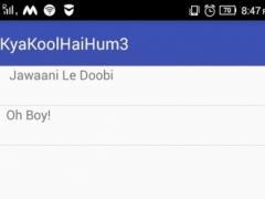 Lyrics For Kya Kool Hai Hum 3 1.0 Screenshot