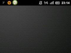M_Dot GO Launcher EX Theme 1.4 Screenshot