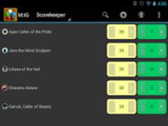 M:tG Scorekeeper 4.0 Screenshot