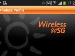 M1 Wireless@SG Connect -Tablet 1.1.2 Screenshot