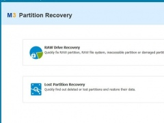 M3 Partition Recovery 4.6 Screenshot
