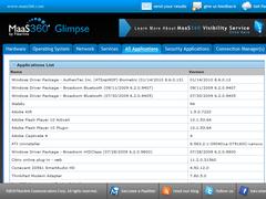 MaaS360® Glimpse 1.1.0.0 Screenshot