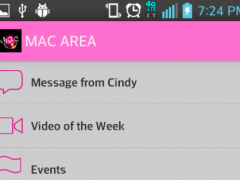 MAC AREA app 1.9.0 Screenshot