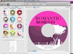 Mac CD/DVD Label Maker 2.4.4 Screenshot