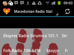 Macedonian Radio Stations 1.0 Screenshot