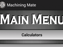 Machining Mate Pro 1.3 Screenshot
