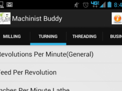 Machinist Buddy Free  Screenshot