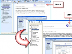 Macrobject Word-2-CHM Converter 2007 2007.13.912.651 Screenshot