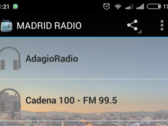 Madrid Spain Radio Stations 1.0 Screenshot