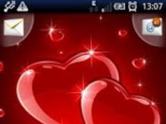 Magic Effect Red Hearts 1.4 Screenshot