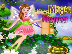Magic Fairy New Year Celebration - Games for girls 2.2.0 Screenshot
