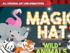 Magic Hat: Wild Animals Lite - Playing and Learning with Words and Sounds 1.26.0 Screenshot