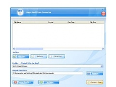 Magic iPod Video Converter 8.0.7.25 Screenshot