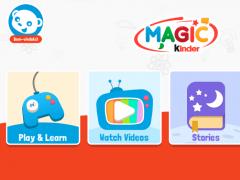 Magic Kinder Official App - Free Kids Games  Screenshot