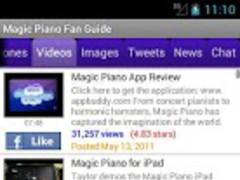 Magic Piano Fan App 1.00 Screenshot