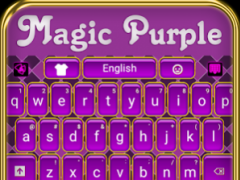 Magic Purple Keyboard 5.74 Screenshot