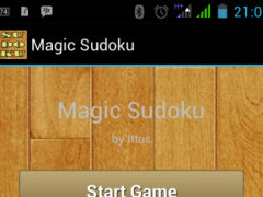 MAGIC SUDOKU 1.0 Screenshot