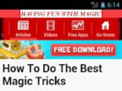 Magic Tricks Guide 1.0 Screenshot
