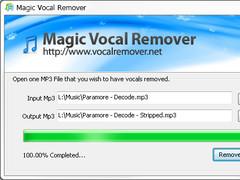 Magic Vocal Remover 1.0.11 Screenshot