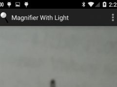 Magnifier With Light with ads 1.1 Screenshot