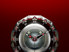 MAGNOLIA Analog Clock Widget 2.70 Screenshot