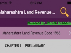 Maharashtra Land Revenue Code 1966 1.0 Screenshot