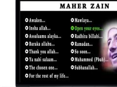 Maher Zain Music & Lyric Free Download