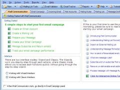 Mail Communicator 2.0 Screenshot