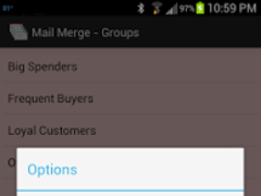 Mail Merge Lite 2.3 Screenshot