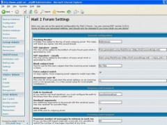 mail2forum 1.2.6 Screenshot