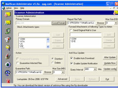 MailScan for CommuniGate Pro 6 Screenshot