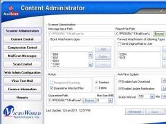 MailScan for SMTP Servers 6.8a Version 6.8a Screenshot