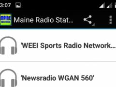 Maine Radio Stations 1.2 Screenshot