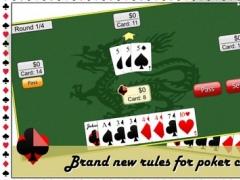Majority Poker - NEW challenging card game 1.0.1 Screenshot