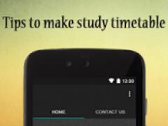Make Study Timetable 2.0 Screenshot