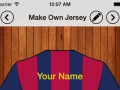 Make Your Own Jersey 1.3 Screenshot
