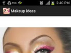 Makeup idea book 1.0 Screenshot